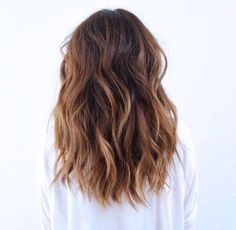 This dark brown sombre is #hairgoals !! This lovely look has got us seeing stars and we are swooning over how effortless these waves look