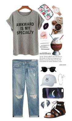 """Awkward"" by the60stiedyehippie ❤ liked on Polyvore featuring rag & bone, Juliet & Company, Marc by Marc Jacobs, Disney, Forever 21, Lime Crime and Larsson & Jennings"