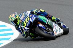 """MotoGP - Rossi: """"Tivemos dificuldades com a afinação da moto"""""""