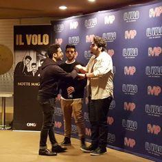 @ilvolomusic @kimmelcenter #meetandgreet #nottemagicatour #ilvolo Thanks to @dearignazio for sharing #Philadelphia #ilvoloversdelmundo #ilvolomundialoficial
