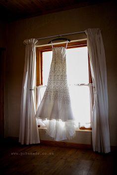 Beautiful detailed wedding dress