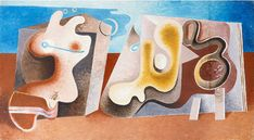 Otto Tschumi - Paysage, 1935 x 55 cm) Ice Tray, Artist