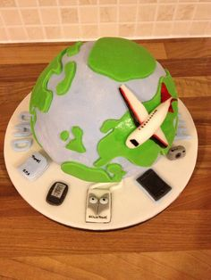 Dad's Travelling Cake