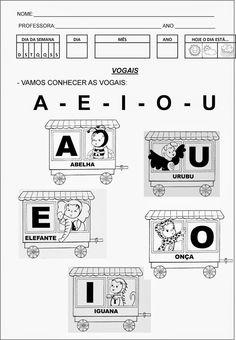 Vogais - Educar Atividades