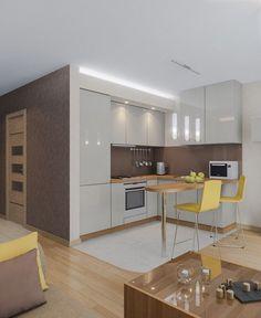 Квартира - студия - Дизайн интерьеров | Идеи вашего дома | Lodgers
