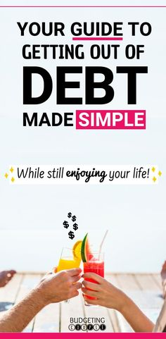 Find out how you should be paying off debt so you can get out fast and painlessly.  This is your guide to getting out of debt made simple.  WHILE still enjoying your life and money!  There's no need to live on the bare minimum while achieve debt payoff.