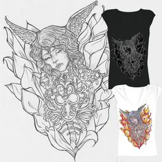 Memories on Threadless Help this young artist with a 5 and a lot of sharing!!!