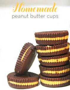 Peanut Butter Cups - easy. healthier than reeces