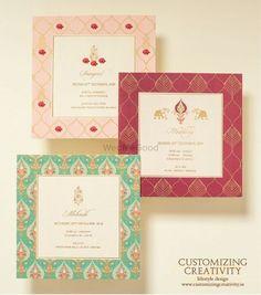 Customized & Unique wedding invitation cards – The Best Ideas Indian Wedding Invitation Cards, Wedding Invitation Card Design, Indian Wedding Invitations, Elegant Invitations, Wedding Stationery, Creative Wedding Invitations, Invitation Wording, Invitation Ideas, Invitation Suite