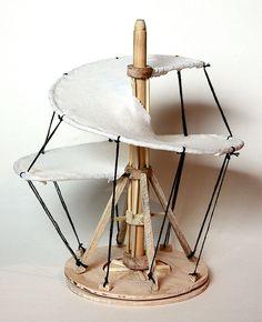 Flugobjekt nach Leonardo Da Vinci - Modell Balloons, Table, Furniture, Home Decor, Coloring Book, Abstract, School, Scale Model, Globes