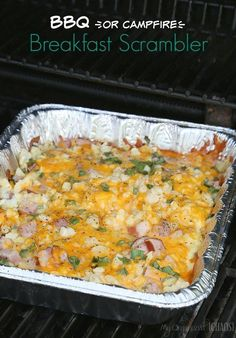 30 of the Best Campfire Recipes for Camping and Grilling Over 30 of the Best Campfire Recipes for Camping and Backyard Summer Fun easy breakfast lunch dinner foil packet. Campfire Breakfast, Campfire Food, Campfire Recipes, Breakfast For Camping, Easy Campfire Meals, Healthy Recipes, Cooking Recipes, Healthy Meals, Simple Recipes