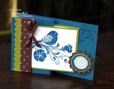 STAMPIN UP UK INDEPENDENT DEMONSTRATOR MONICA GALE: Mrs Wonka.....using Stampin Up Wings of Friendship