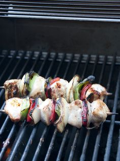Grilled Honey Chicken Kabobs | Wishes and Dishes