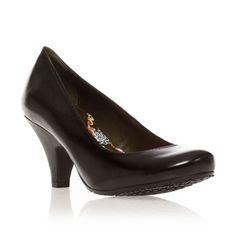 Escarpins en cuir noir - Hush Puppies - Ref: 612912 | Brandalley