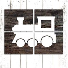 Hey, I found this really awesome Etsy listing at https://www.etsy.com/listing/174221117/nursery-art-train-prints-set-of-four