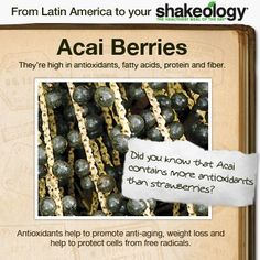 This superfood-packed protein shake helps you lose weight the healthy way, fight junk food cravings, increase your energy, and improve your digestion. Spot Light, Healthy Eating Tips, Clean Eating, Healthy Recipes, Stress, Acai Berry, Shakeology, Protein Shakes, Purple