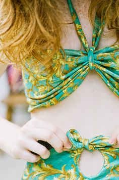 Esther fromthesticks: Summer Sewing: High Waisted Swimsuit