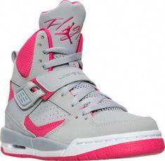 free shipping cf8a9 e9b58 Girls  Grade School Jordan Flight 45 High Ip (3.5y-9.5y) Basketball Shoes    Finish Line  girlsbasketballshoes