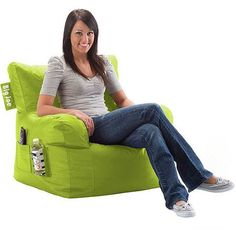Big Joe Bean Bag Chair, Multiple Colors - Walmart.com
