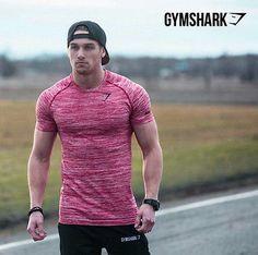 GYMSHARK Gym Shark Stringer Fitness T shirt G...