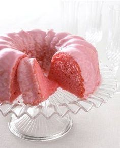 Pink lemonade cake from scratch with full recipe and directions