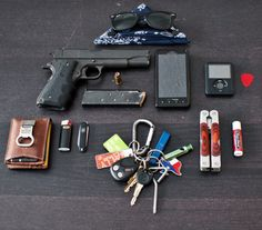 EDC (Everyday Carry) -- just an image here, but thought provoking