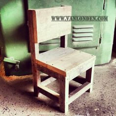 Peuter stoeltje van steigerhout Toddler Rooms, Baby Room, Dining Chairs, Make It Yourself, Room Ideas, Furniture, Home Decor, Woodworking, Beauty