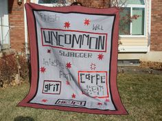 Word Play Quilts by: Tonya Ricucci  Sample made by: KIRK COMBE  Book can be found at: www.martingale-pub.com/store/product_info.php?products_id...  Martingale & Company