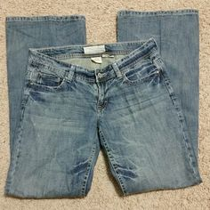 Maurices jeans Maurices jeans 100% cotton  Size 9/10 Haley wide leg. No wear on bottoms and no stains or damage. Maurices Pants