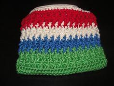 Carteira em crochet Crochet pouch