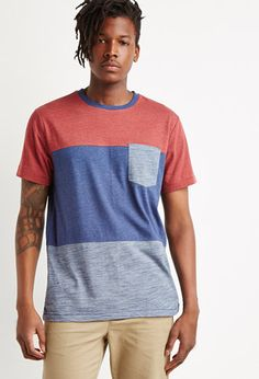 a626f82ea3a Colorblocked Pocket Tee