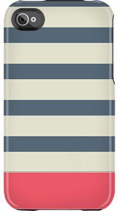 Nautical Stripe case by Uncommon