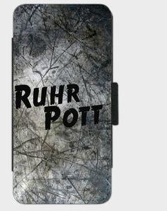 """Flip-Case """" Ruhrpott """" von Zierrat auf DaWanda.com"""