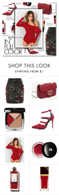 """""""In full color"""" by smajlovicelvira ❤ liked on Polyvore featuring Topshop, Chanel, Edward Bess and Tom Ford"""