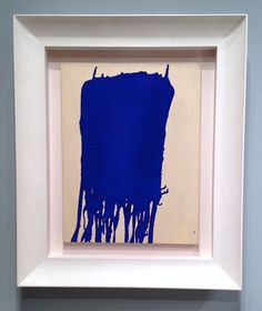 Yves Klein Yves Klein, International Klein Blue, Colour Field, Ink Painting, French Artists, Les Oeuvres, Art Work, Monochrome, Indigo