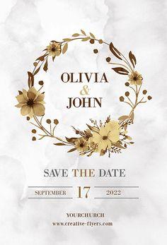 Invitation Flyer, Wedding Invitation Card Design, Creative Wedding Invitations, Wedding Card Design, Invites, Wedding Cards, Wedding Events, Flyer Design, Web Design