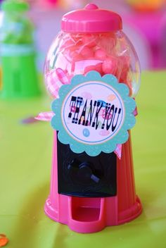 Sweet Shoppe Baby Shower Favor