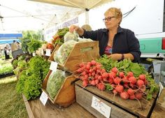 The Westport Farmers Market is alive and well.