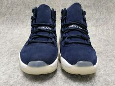huge discount 6929b 9477d Air Jordan 11 Retro Prem Jeter Binary Blue Binary Blue-Sail Hot Sale
