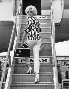 Marilyn Monroe...trip to Mexico 1962
