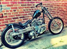 1967 Harley Davidson Shovelhead by Max Schaaf of 4Q Conditioning