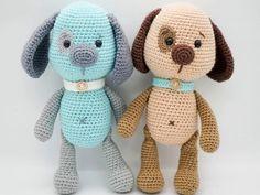 Crochet dog free amigurumi pattern | Amigurumi Space