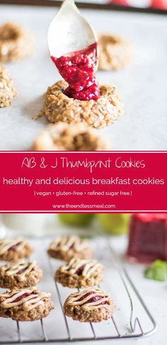 AB & J Breakfast Thumbprint Cookies   The Endless Meal