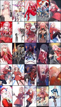 Darling in the FranXX Wallpaper Anime Pack HD part 3 Anime Girl Hot, Anime One, Otaku Anime, Anime Art Girl, Manga Anime, Fanarts Anime, Anime Characters, Cute Anime Character, Character Art