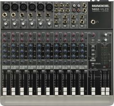 This is a sweet Mackie 1402-VL23 Premium 12-Channel Mixer. $279.99