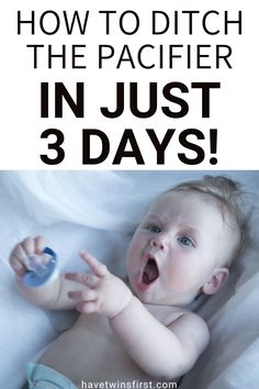 Toddler sleep tips for taking away the pacifier. How to take away pacifier from your toddler in only 3 days. A simple method for removing the pacifier. Pacifier Weaning, Toddler Sleep Training, Toddler Nap, Colic Baby, Sleep Help, Sleep Schedule, How To Have Twins, Bedtime Routine, Parenting Hacks