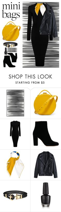 """Mini bags"" by avramraisa ❤ liked on Polyvore featuring Art Addiction, Nico Giani, Hermès, NYX and minibags"