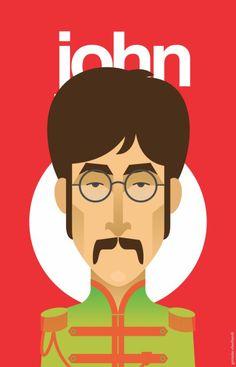 Germán Eberhardt - John Lennon.