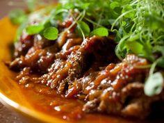 Brisket Supper with Mushroom-Sage Polenta
