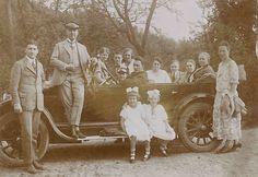 Familien Ausflug Ernst Pickhardt 1922